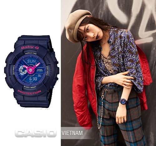Kết quả hình ảnh cho bài viết về đồng hồ Baby-G chính hãng Casio