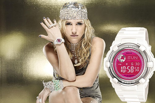 Ke$ha (Kesha Rose Sebert), photographed for Casio America, Sacramento, CA.