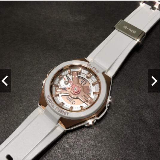 Đồng hồ Casio Baby G MSG-400G-7A ấn tượng mạnh khi vừa được ra mắt ...